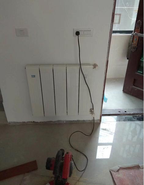 青岛亿诺暖通暖气片加盟代理安装过程